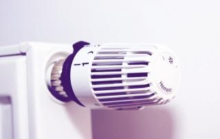 válvula termostática radiador