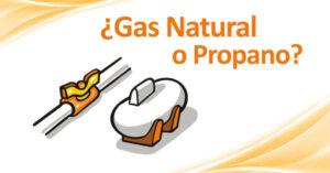 Gas Natural o propano